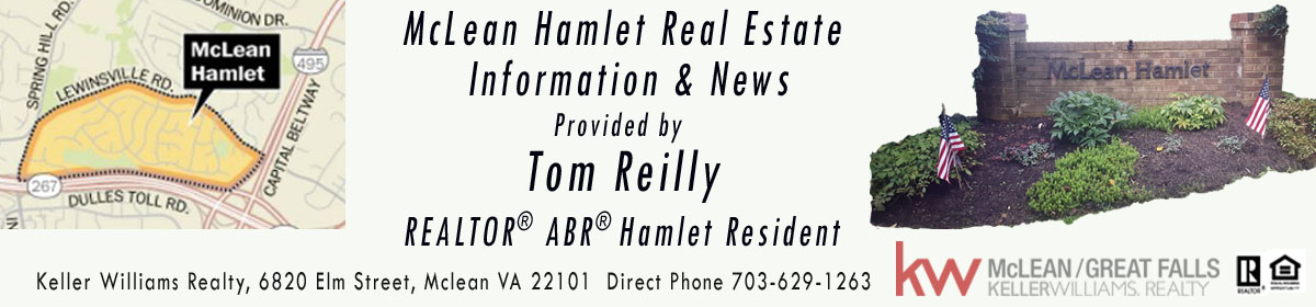 McLean Hamlet Real Estate News & Information Provided by Tom Reilly