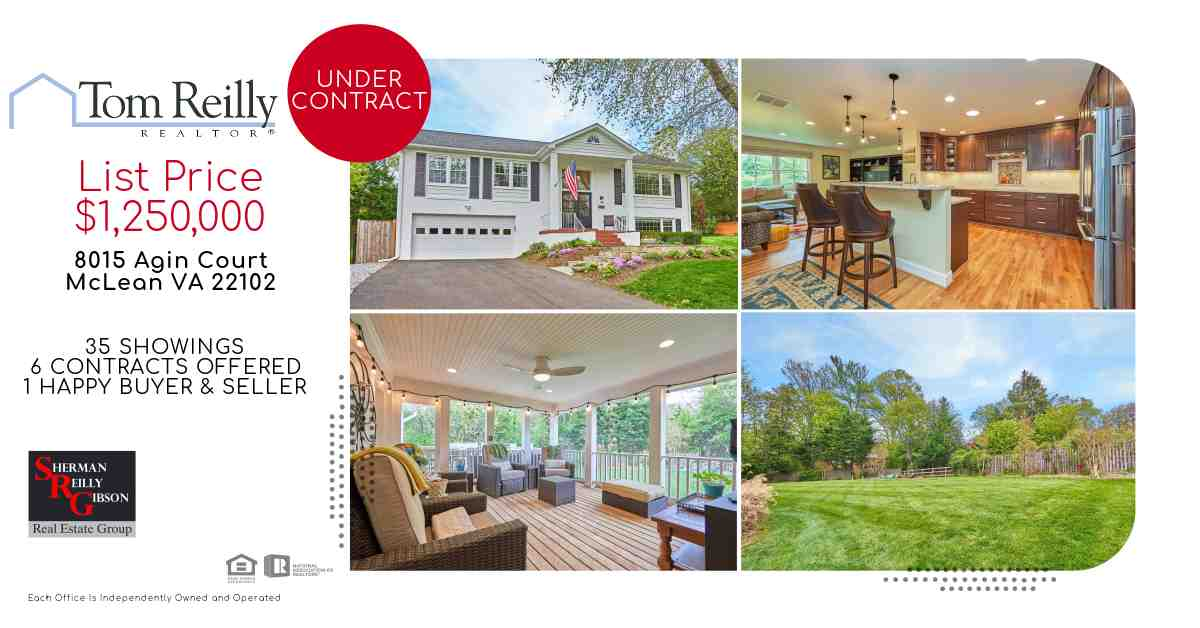 8015 Agin Court shows ultra competitive real estate market in the McLeanHamlet